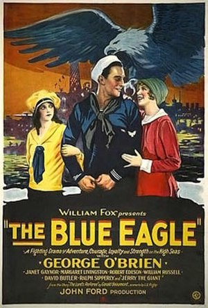 The Blue Eagle - Theatrical poster to The Blue Eagle (1926)