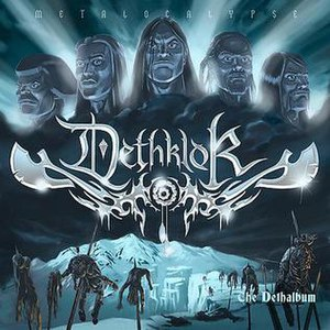 The Dethalbum - Image: The Dethalbum Cover