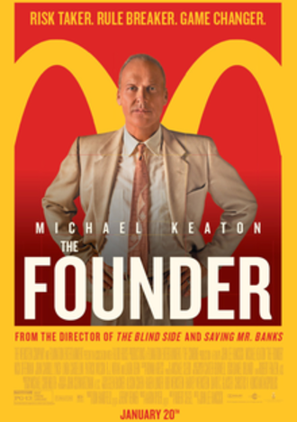 The Founder - Theatrical release poster