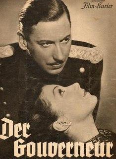 <i>The Governor</i> (1939 film) 1939 film by Victor Tourjansky