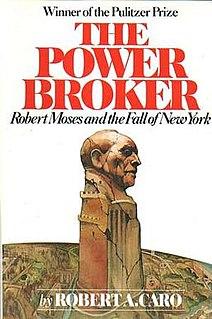 <i>The Power Broker</i> Robert Caros 1974 biography of Robert Moses