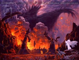 Eucatastrophe - The climax of The Lord of The Rings, as portrayed by  Ted Nasmith.