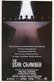 <i>The Star Chamber</i> 1983 film by Peter Hyams