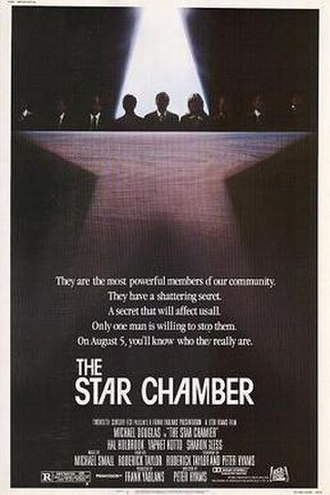 The Star Chamber - Theatrical release poster