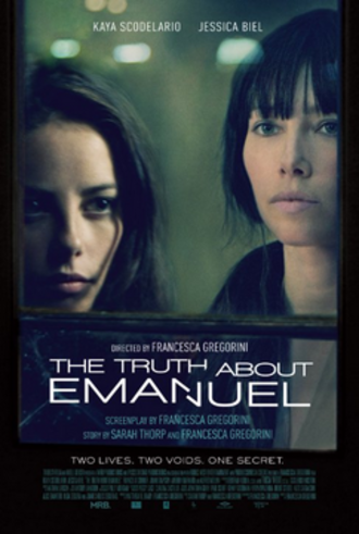 The Truth About Emanuel - Theatrical release poster