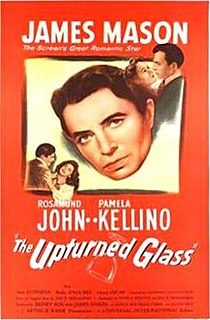 <i>The Upturned Glass</i> 1947 film by Lawrence Huntington