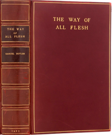 The Way of All Flesh (1903 omslag en rug) .png