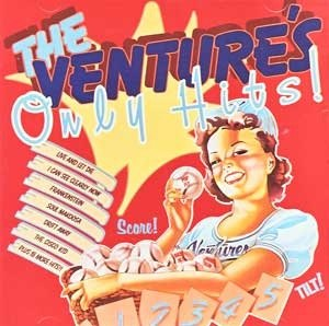 Only Hits (The Ventures album) - Image: Theventuresonlyhits