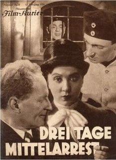 <i>Three Days Confined to Barracks</i> 1930 film by Carl Boese
