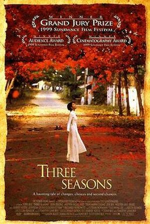 Three Seasons - American theatrical release poster