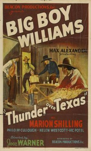 Thunder Over Texas - Film poster