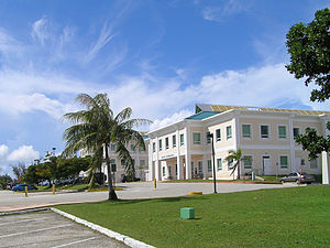 The University of Guam campus