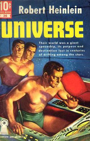 Future History (Heinlein) - Universe was a 1941 story from Heinlein's Future History series (shown here in the 1951 Dell edition).