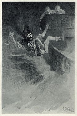 "Scene from ""The Canterville Ghost"""