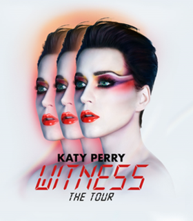 Witness: The Tour Fourth Comcert Tour by Katy Perry