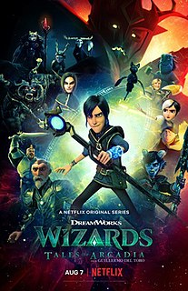 <i>Wizards: Tales of Arcadia</i> American computer-animated fantasy series