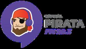 XHCQR-FM - Image: XHCQR pirata FM99.3 logo