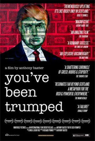 You've Been Trumped - Film poster