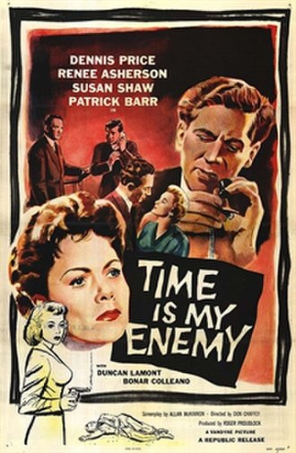 Time Is My Enemy - U.S. poster