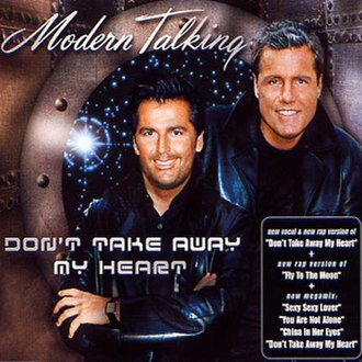 Don't Take Away My Heart - Image: 030 MT Don't Take Away My Heart CD5 (2000)