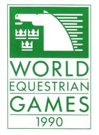 1990 FEI World Equestrian Games - Image: 1990 FEI WEG logo