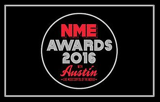 NME Awards - Logo for the 2016 NME Awards