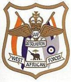 26 Squadron SAAF - Image: 26 Sqn badge