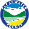 Official logo of Clearwater County