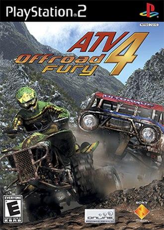 ATV Offroad Fury 4 - Image: ATV Offroad Fury 4 Coverart