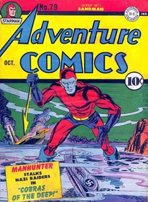 Manhunter (comics) - Paul Kirk in the 1940s