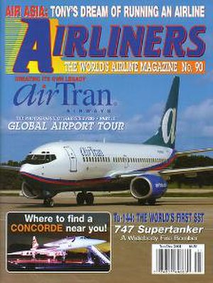 Airliners (magazine) - Image: Airliners novdec 04