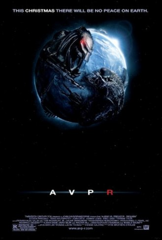 Aliens vs. Predator: Requiem - Theatrical release poster