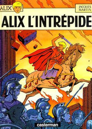 The Adventures of Alix - The cover of the first book