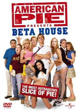 American Pie Presents: Beta House - DVD cover