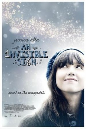 An Invisible Sign - Theatrical release poster