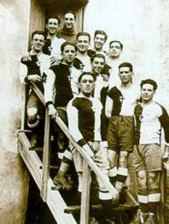U.C. Sampdoria - Early photograph of Andrea Doria players.