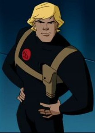 Nemesis (DC Comics) - Nemesis from the Justice League Unlimited animated series.
