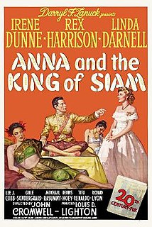 <i>Anna and the King of Siam</i> (film) 1946 drama film directed by John Cromwell