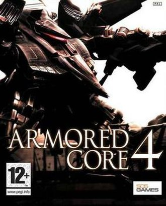 Armored Core 4 - PAL cover art