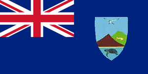 Flag of Ascension Island - Image: Ascension Island flag proposal A