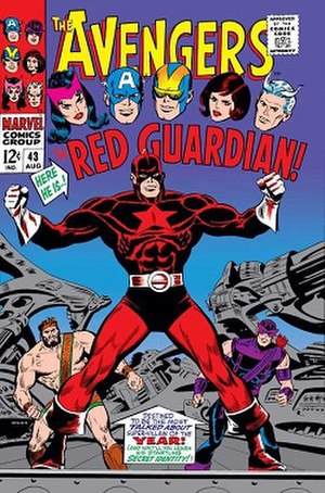 Red Guardian - Image: Avengers 43