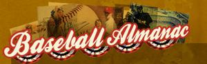 Baseball Almanac - Image: Baseball almanac logo