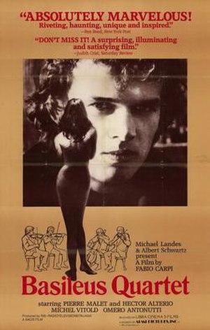 Basileus Quartet - Image: Basileus quartet movie poster 1982
