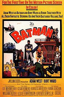 <i>Batman</i> (1966 film) 1966 film directed by Leslie H. Martinson