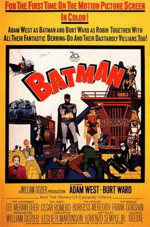Batman (1966 film) - Theatrical release poster