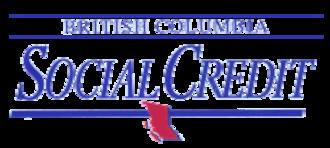 British Columbia Social Credit Party - Image: Bcsocialcredit