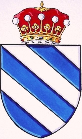 Marquess or Marchioness of Galatone - Coat of arms of the Fieschi.