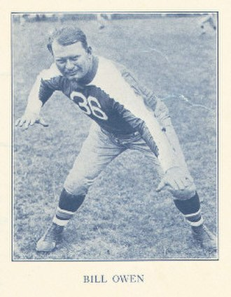 Bill Owen (American football) - Image: Bill Owen (American football)