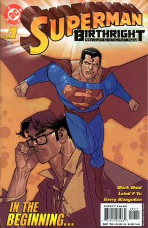 Superman: Birthright - Image: Birthright 01cover