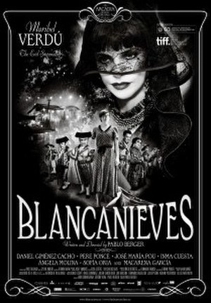 Blancanieves - Theatrical release poster